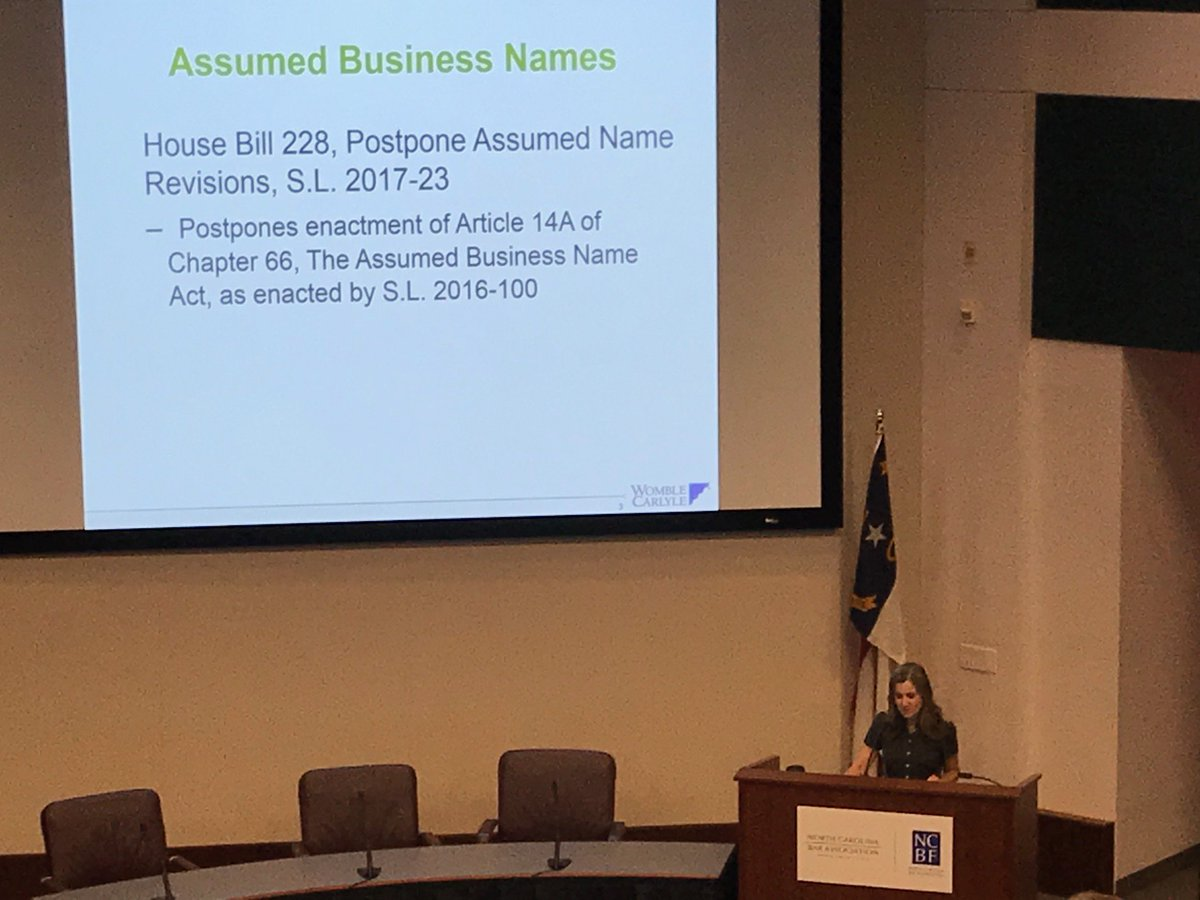 It&#39;s Day 2 of the @NCBAorg Annual Review program. @annasmills provided the #businesslaw update and #civil, #elder, #family updates are next. <br>http://pic.twitter.com/E7jT2LBIHC