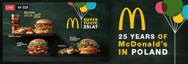 25-Year Anniversary of #McDonald&#39;s in Poland!   http:// bit.ly/2yCiei2  &nbsp;    #SocialMediaMarketing #FacebookLive #FacebookMarketing #SMM<br>http://pic.twitter.com/AS7y3G1L2A