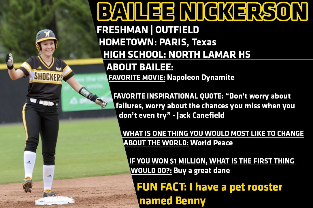 Shocker Softball On Twitter We Are Another Week Closer To The