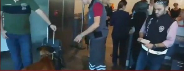 #SONDAKİKA 🔴 #Avusturya'ya giden yabancı yolcular, üzerleri ve çantala...