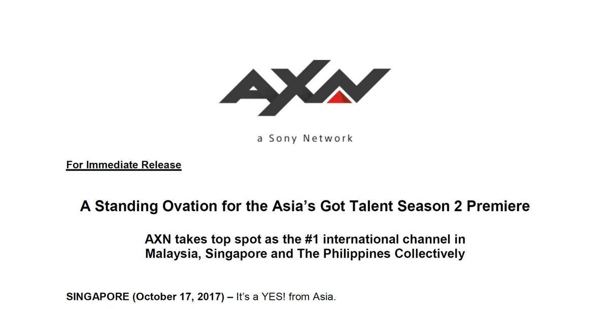 Thank you for making this show a huge success across the region and biggest talent TV show… in the world! 🙏🏽❤️😘