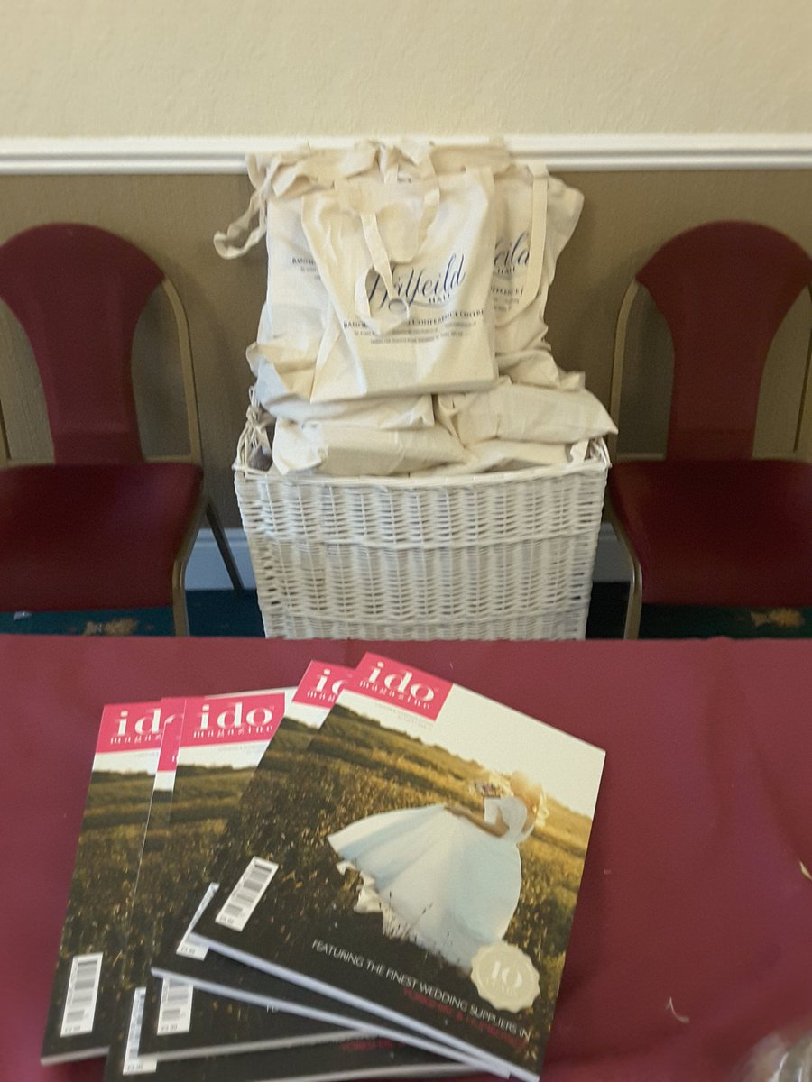 Goody bags ready for Sunday. Come along and meet our amazing wedding suppliers.   @idomagazine @GoGayWedding @WakeExpress #weddings #brides<br>http://pic.twitter.com/xEXUUVJhpb