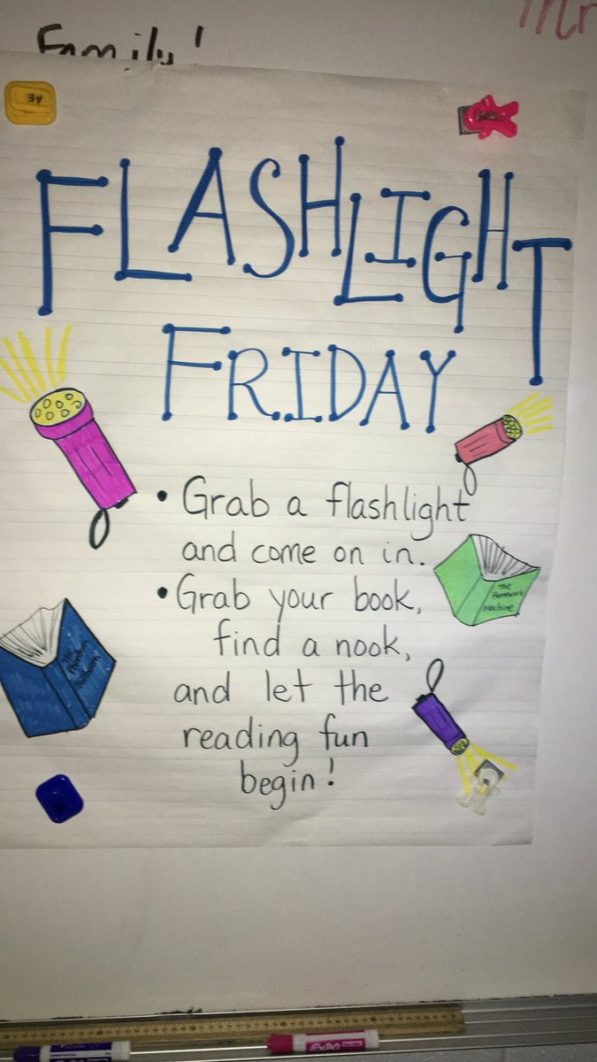 Mrs. Engelbrecht's is enjoying our first flashlight Friday! <a target='_blank' href='https://t.co/y9pX1MWrnA'>https://t.co/y9pX1MWrnA</a>