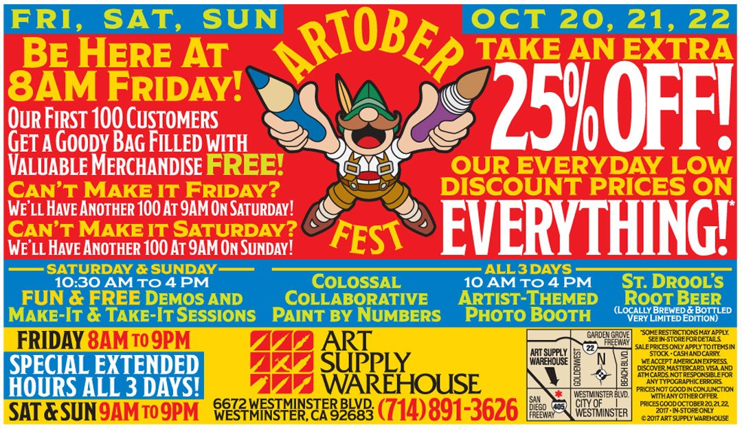 ART SUPPLY WAREHOUSE on Twitter: