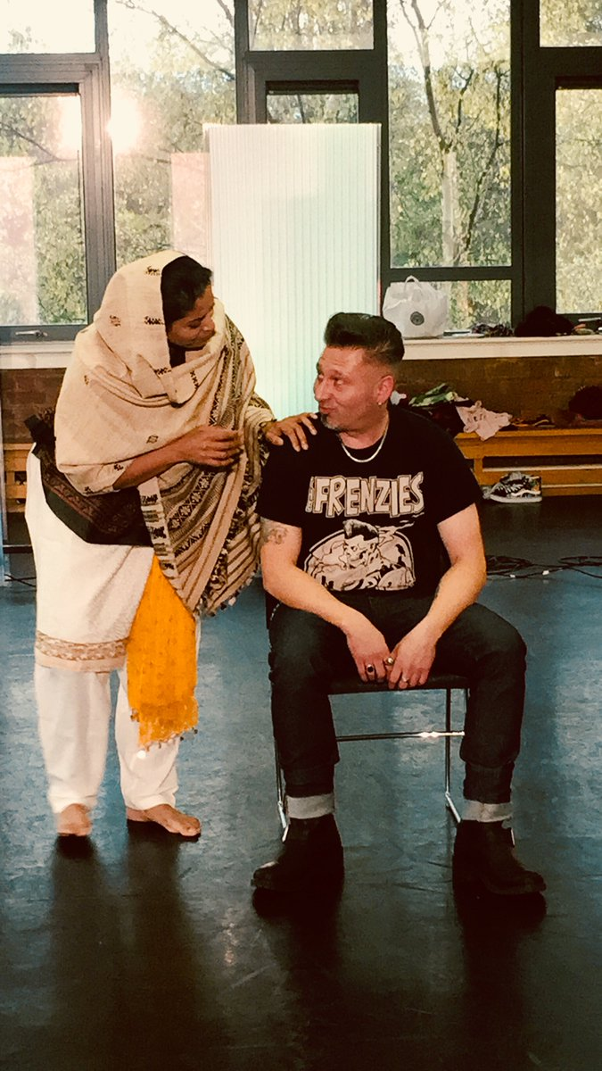 We&#39;re getting geared for the #Kahaani Arts and Mental Health Festival performance on Oct 27th,&#39;17 at the @mac_birmingham (2pm and 8pm)! Such #GoodVibes. Book your tickets for £5 now:  http:// sampad.org.uk/event/kahaani- story-at-bedlam-arts-and-mental-health-festival/ &nbsp; … <br>http://pic.twitter.com/ovnTLjjs11
