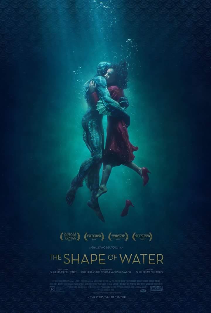 Une affiche finale pour le nouveau Guillermo del Toro! #guillermodeltoro #poster #films #theshapeofwater  - FestivalFocus