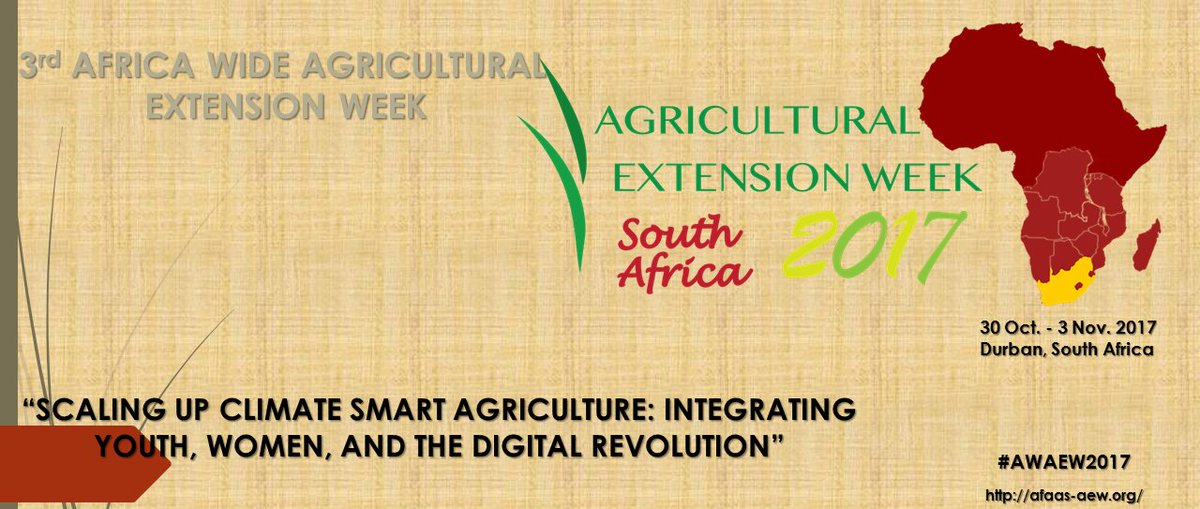 The 3rd AFAAS Africa-Wide Agricultural Extension Week