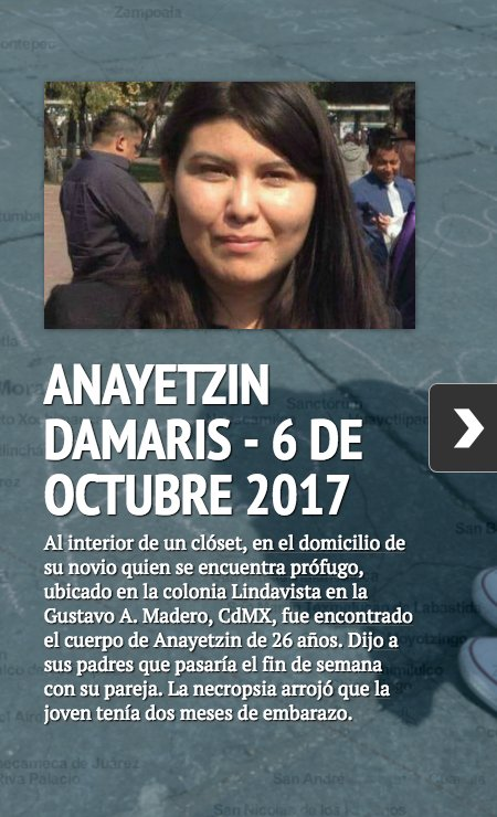 #Anayetzin y todas las mujeres asesinada...