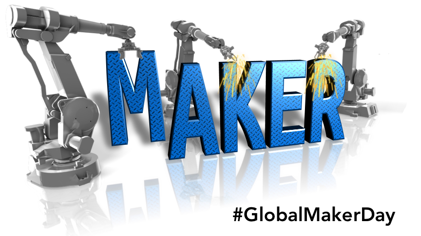If you build it... #GlobalMakerDay is Oct 24, 2017 #Create locally &amp; share globally!  http:// tiny.cc/gmd17  &nbsp;   @GlobalMaker #GlobalED #edtech <br>http://pic.twitter.com/YYeDoCogFD