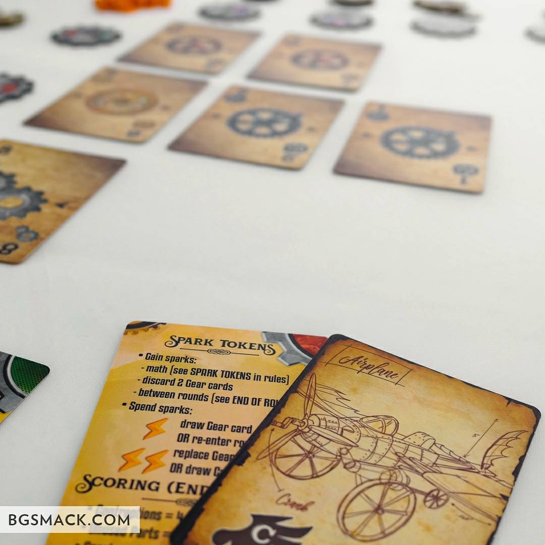 Just building some #steampunk contraptions Gearworks #boardgame #tabletop by @PieceKeeperGame