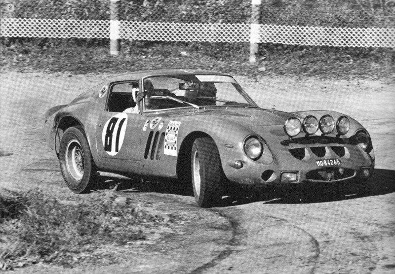 Rally Gerona 1968   #81 #Ferrari 250 GTO   Driver: Eugenio Baturone <br>http://pic.twitter.com/QBBDp0z3T3