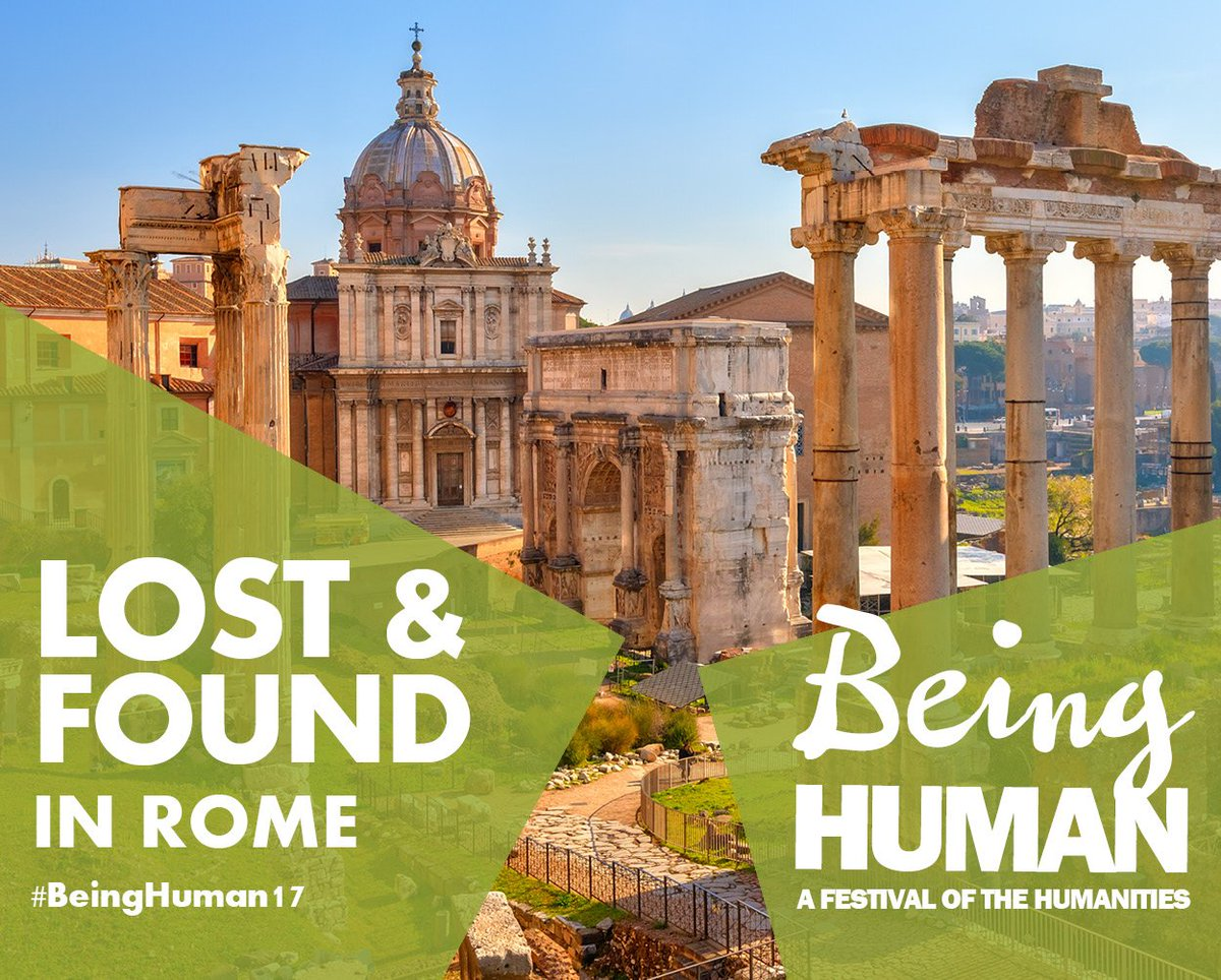 UK festival of the #humanities #BeingHuman17 comes to Rome 27 October @the_bsr  http://www. bsr.ac.uk/?p=26613  &nbsp;  <br>http://pic.twitter.com/VyYapqwgWp