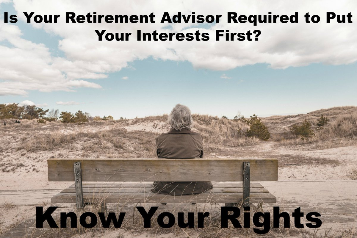 Do You Know Your Rights When it Comes to #Retirement #Advisers?  http:// shrs.it/1idgm  &nbsp;  <br>http://pic.twitter.com/lvbjkkAz76