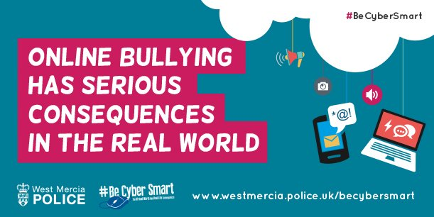 Thanks for your support #BeCyberSmart campaigners! Let&#39;s keep sharing the message that #cyberbullying is never OK, and help is available. <br>http://pic.twitter.com/6J1BjubFH5
