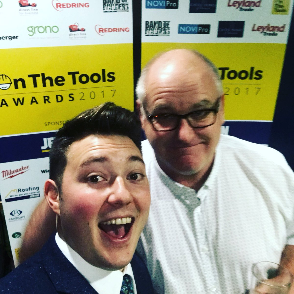 We are at the On The Tools Awards tonight. Seen some celebrities in the construction industry such as @TibbySingh #OTTAwards2017 pic.twitter.com/XMHquEZfYq
