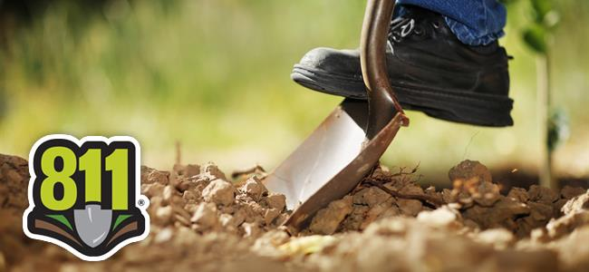 Always contact 811 before you dig! Our call center is open Monday through Friday from 6AM to 7PM.…