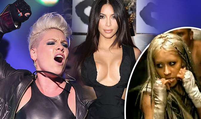 Shocking #Pink interview:  #christinaaguilera PUNCHED her in a club and why she is gunning for #KimKardashian  https://t.co/RzLQzkCfey