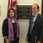 SAP's @pkfletcher & @jbstephensonSAP met with Congresswoman Clark this week to discuss equity in the workplace and #BusinessBeyondBias