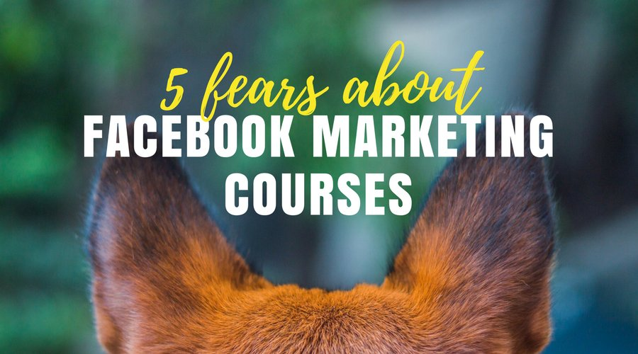 On the fence about a #FacebookMarketing course? Perhaps you have one of these concerns…  https:// buff.ly/2ywKncO  &nbsp;  <br>http://pic.twitter.com/ME6CQV8DF4