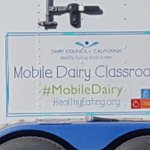 Bluebell and JR visited Sunkist from the Mobile Dairy Classroom. Mr. Dave talked about different kinds of cows where milk comes from.