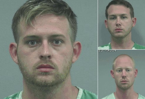All 3 men arrested for a shooting following Richard Spencer&#39;s speech yesterday attended the Unite the Right rally in #Charlottesville. <br>http://pic.twitter.com/uj8Prdp2RV