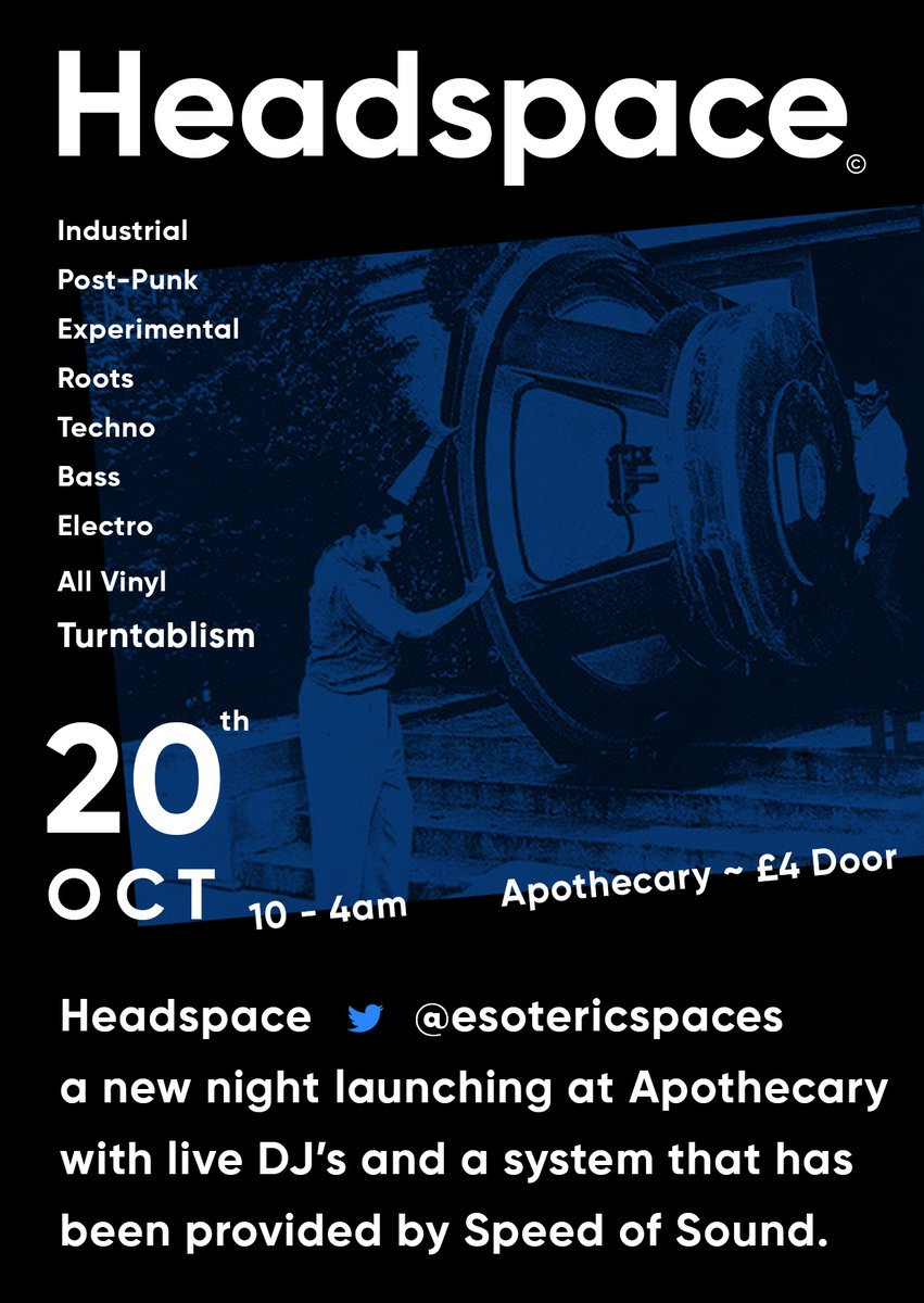 RT New Night In Lancaster. #Headspace© Launches at Apothecary Bar #LoveLancaster Sound system by Speedofsound. #Gigs <br>http://pic.twitter.com/qEUZLyEsSy