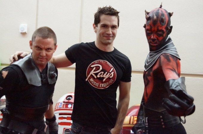 Happy Birthday to Honorary Member Sam Witwer ( May The Force Be With You!