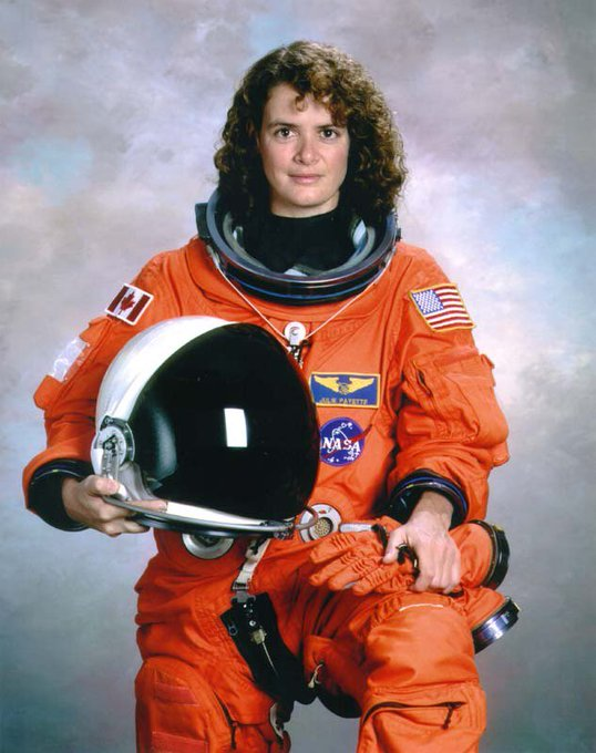 Today s astronaut birthday; Happy Birthday to Julie Payette!