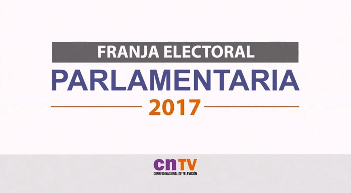 VIDEO | Revisa el debut de la #FranjaElectoral https://t.co/TxygOhkIhN...