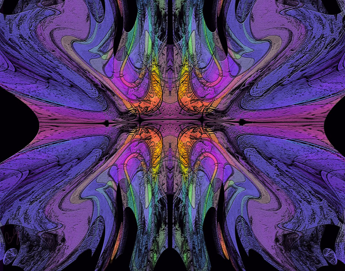 &quot;Metamorphosis&quot;  Let it turn into a beautiful day.  Digital abstract by artist Bob Belz #abstract #art #abstractart #wacom <br>http://pic.twitter.com/sAueDEKOQT