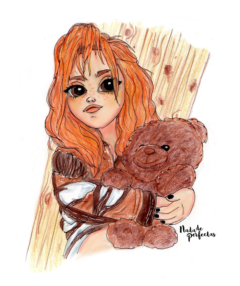 Ana in 1983&#39;  the girl @anajaramartinez with her bear...  #anajaramartinez #anajara #vintage #bear #style #nadadeperfectas<br>http://pic.twitter.com/E0s2I51NZA