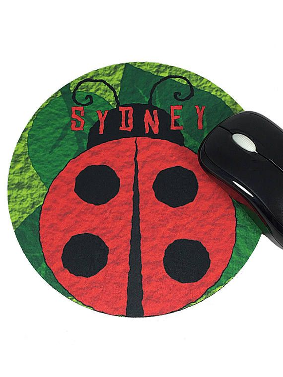 #LadyBug Personalized Girly #Mousepad in my @Etsy shop  https:// buff.ly/2ywrELX  &nbsp;  <br>http://pic.twitter.com/bYuumjg4SB