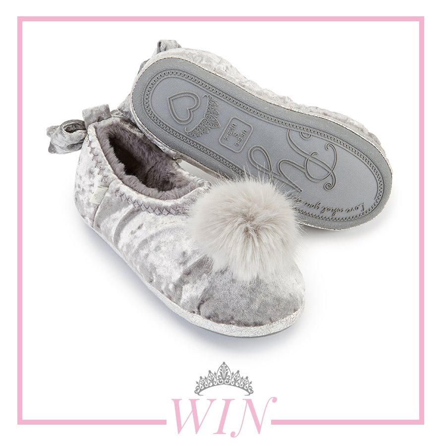Dont miss your chance to #WIN our stunning Verity Silver slippers for winter...  To enter our #freebiefriday #comp simply follow and RT  <br>http://pic.twitter.com/R56LOH6e3a