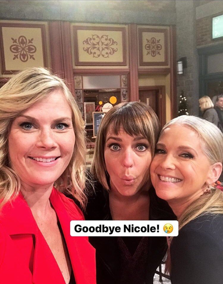 Goodbye Nicole ! Comeback soon Ari . Until then you will be missed . #Days @Ari_Zucker <br>http://pic.twitter.com/PRWxySznG5