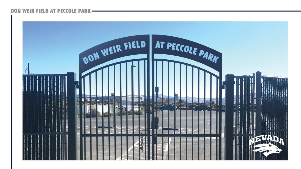 Nevada Wolf Pack On Twitter Don Weir Owner Of Reno Dodge And Former Nevadabaseball Star Will Donate 1 Million Toward The Renovation Peccole Park