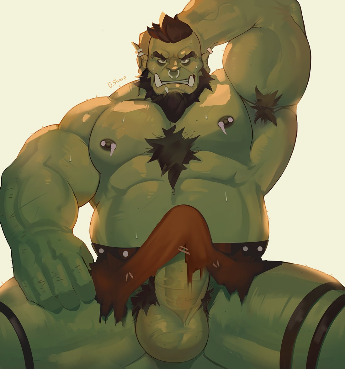 Think, half orc male naked opinion