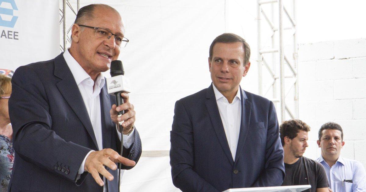 A indireta de Geraldo Alckmin para João Doria após a polêmica ração do prefeito https://t.co/M85EKJR0Rw