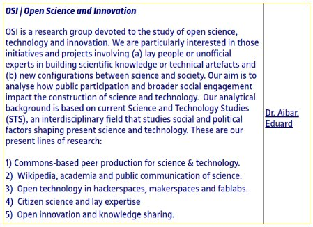 #OpenScience &amp; Innovation research lines in our Doctoral Programme in Information Knowledge Society   http://www. uoc.edu/portal/en/esco la-doctorat/linies-recerca/linies-sic/culture-society-and-language/index.html &nbsp; …  #OAweek #OAMOOC <br>http://pic.twitter.com/A7OquBVnfU