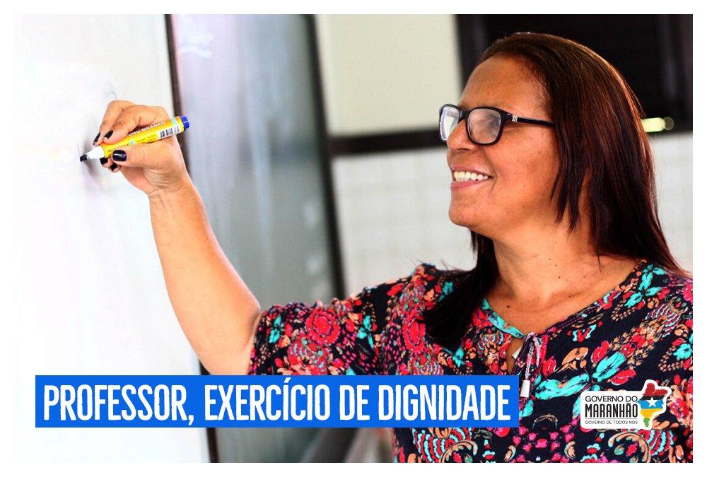 👩🏫 'Professor, exercício de dignidade' é o artigo do governador @FlavioDino desta semana >>>   https://t.co/X9LxJlDR74#GovernoDeTodosNós
