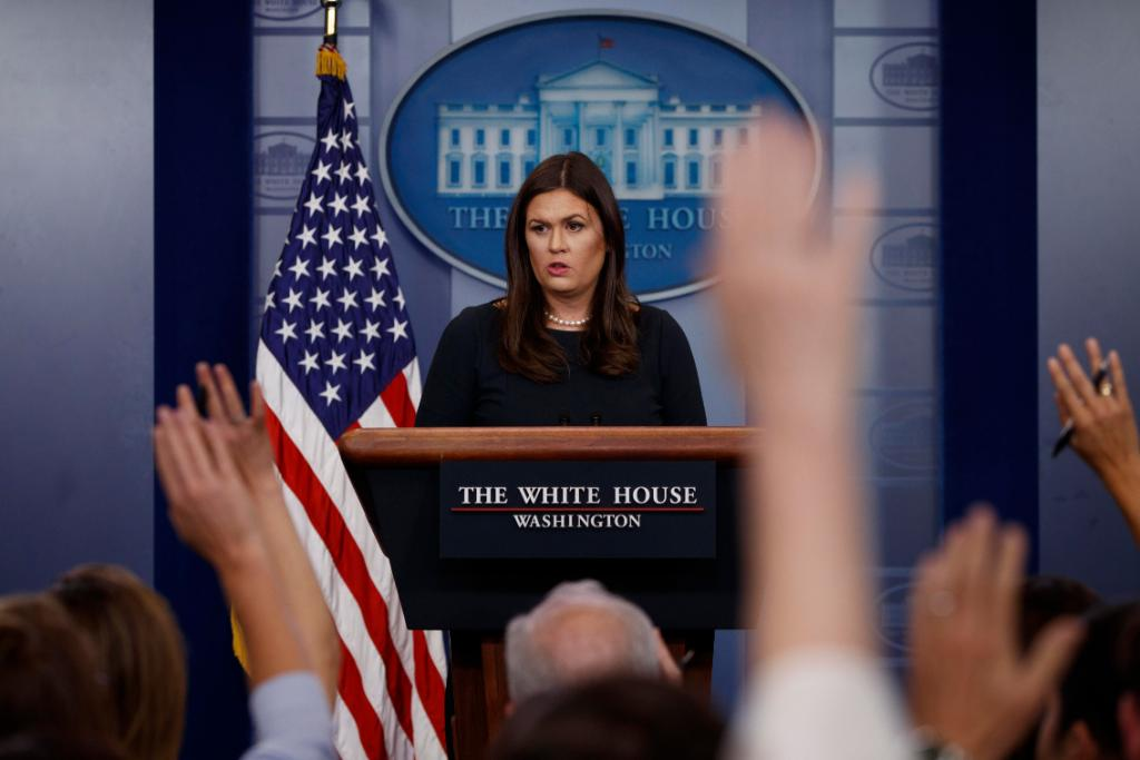 SOON: White House press secretary Sarah Sanders to brief reporters amid military investigation in Niger ambush https://t.co/pJTzS3zKdL