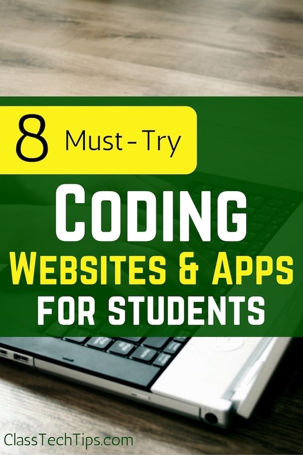 8 Must-Try Coding Websites &amp; Apps for Students  https:// goo.gl/c91f8W  &nbsp;   @ClassTechTips #edtech #elearning #edchat<br>http://pic.twitter.com/04P1niiQlN
