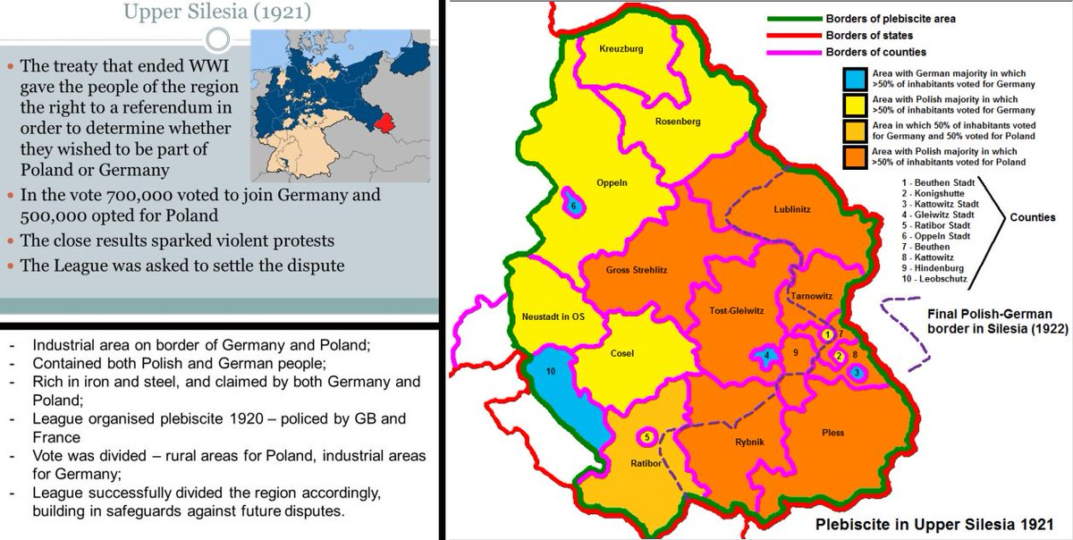 Picture of: Historrror On Twitter 10 20 21 1921 Weimarrepublic The League Of Nations Makes The Final Decision On Upper Silesia Details Https T Co Tzvwumoqjg Https T Co Offz4krjtq