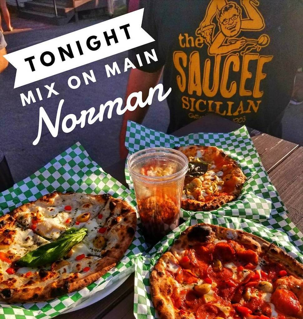 We&#39;re Coming To Norman Tonight Saucee Heads!! Join Us For Mix On Main @MainDistrictNorman At Mitchell Jewelry From 6-9. #WoodFiredPizza #Ne… <br>http://pic.twitter.com/7dUGRG9q0U