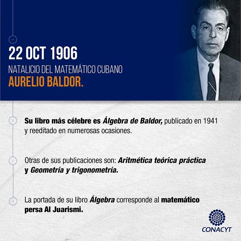 Álgebra de Baldor es uno de los libros más populares de la historia, s...