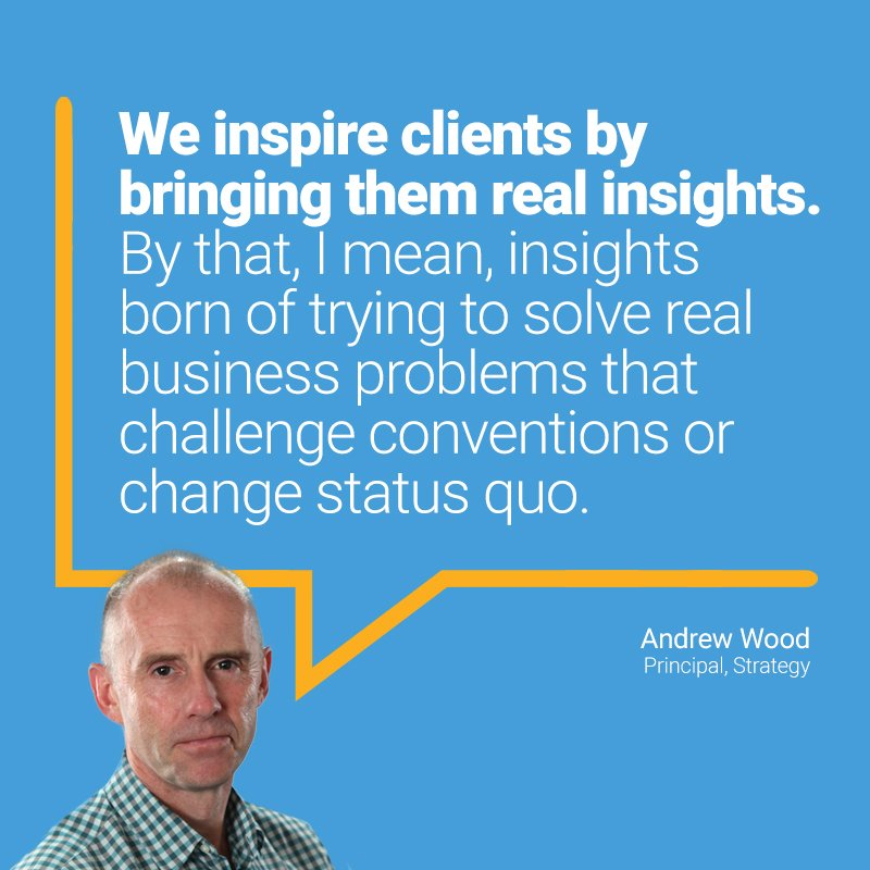Principal, Andrew Wood, talks #4AsStratFest insights and making creative leaps feel like natural steps for clients.  https:// goo.gl/2J5qhG  &nbsp;  <br>http://pic.twitter.com/bs07ZlXO4e