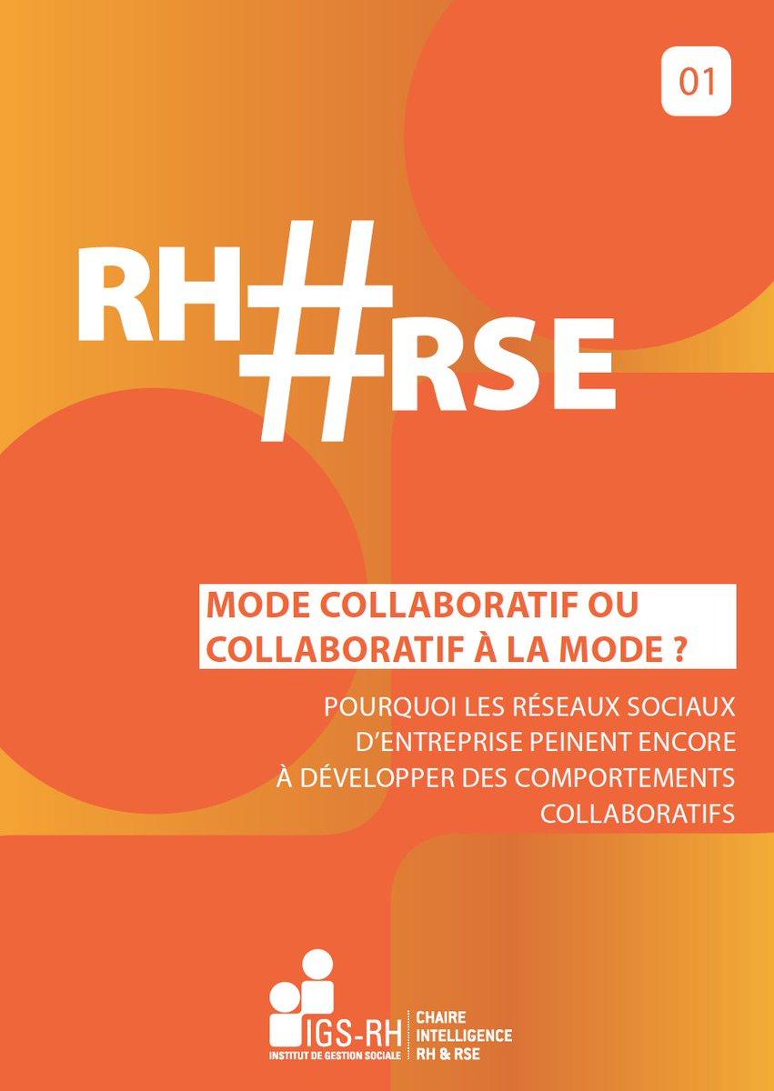 Vignette document Mode collaboratif ou collaboratif à la mode ? Pourquoi les réseaux sociaux d'entreprise peinent encore à développer des comportements collaboratifs