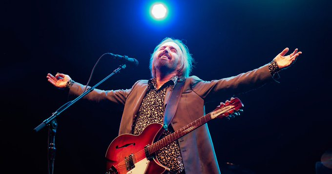 Happy Birthday to Tom Petty. Pretty sure you have wings now.