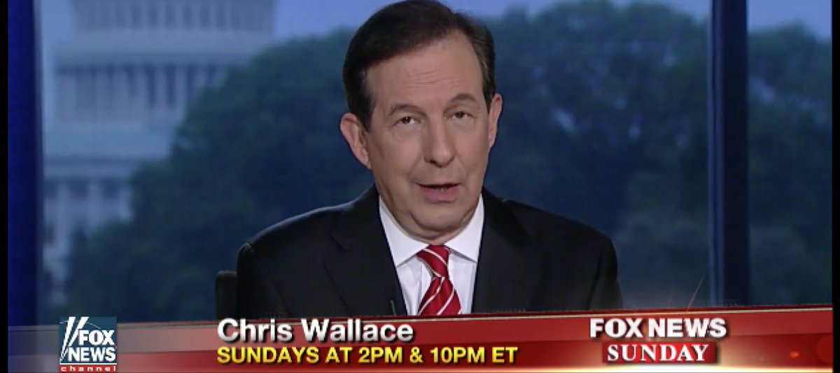Chris Wallace criticizes Fox News colleagues for attacking media outlets https://t.co/7nxrRCZDYt