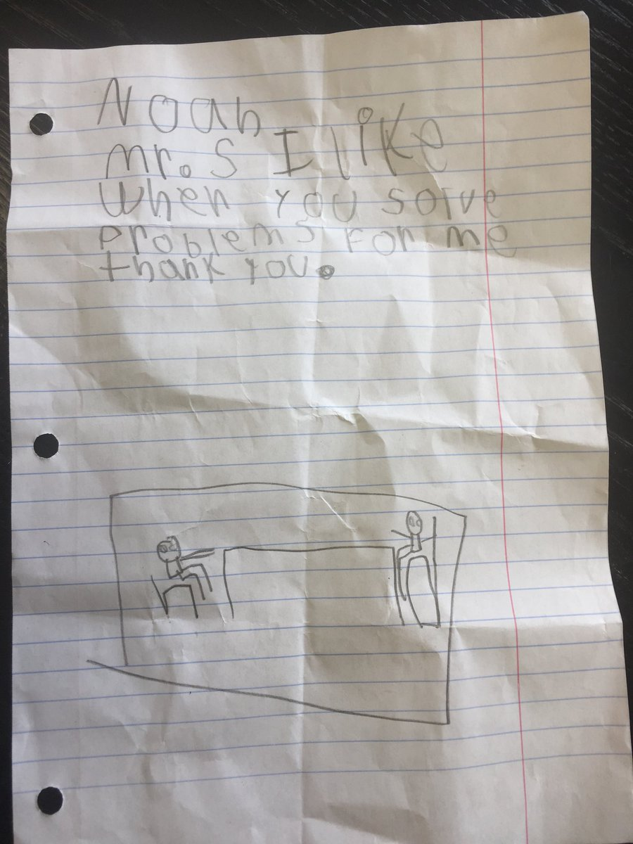 Thanks, Noah. I also enjoy problem solving with you. #nicepic #teampershing #whyiwrite #sneakattackofkindness<br>http://pic.twitter.com/UQCa7f3Tce