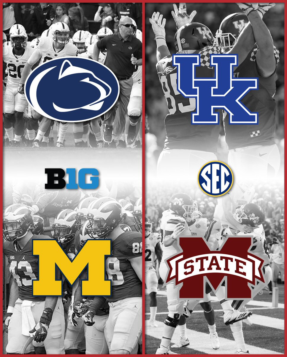 Our #BIG10 and #SEC games of the week ar...